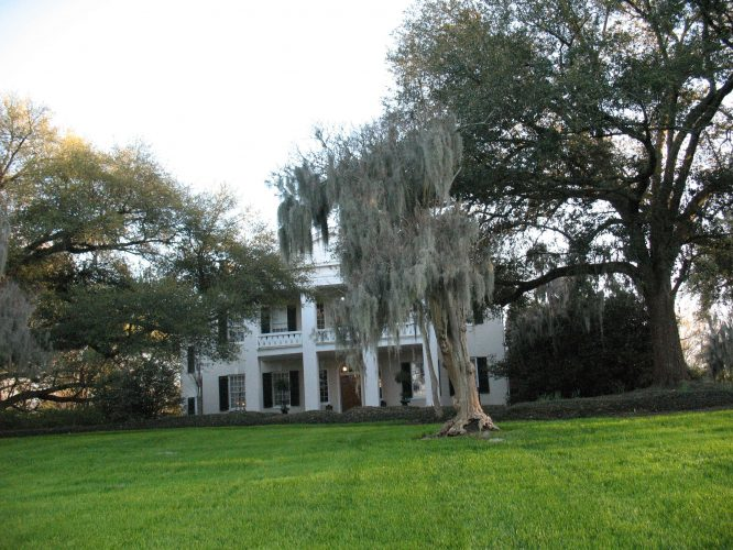 Front Lawn and Main House