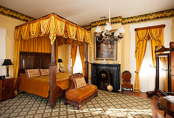 Yellow Antebellum Room